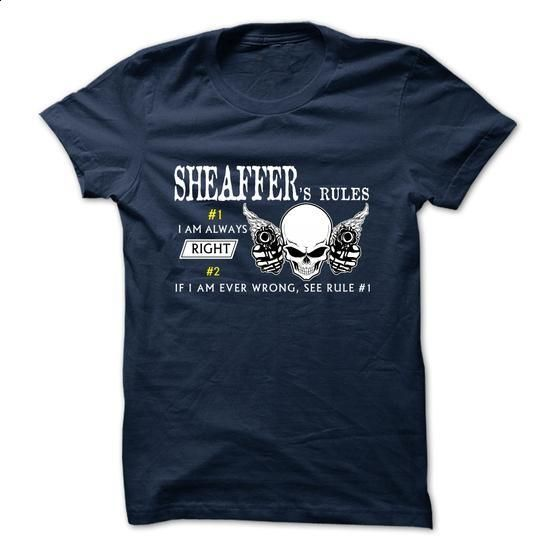 SHEAFFER RULE\S Team  - #long hoodie #grey sweatshirt. GET YOURS => https://www.sunfrog.com/Valentines/SHEAFFER-RULES-Team--57650032-Guys.html?68278