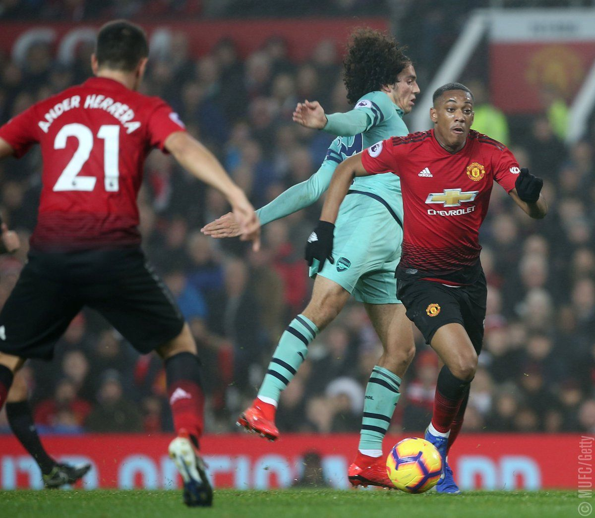 Man United 2 - 2 Arsenal