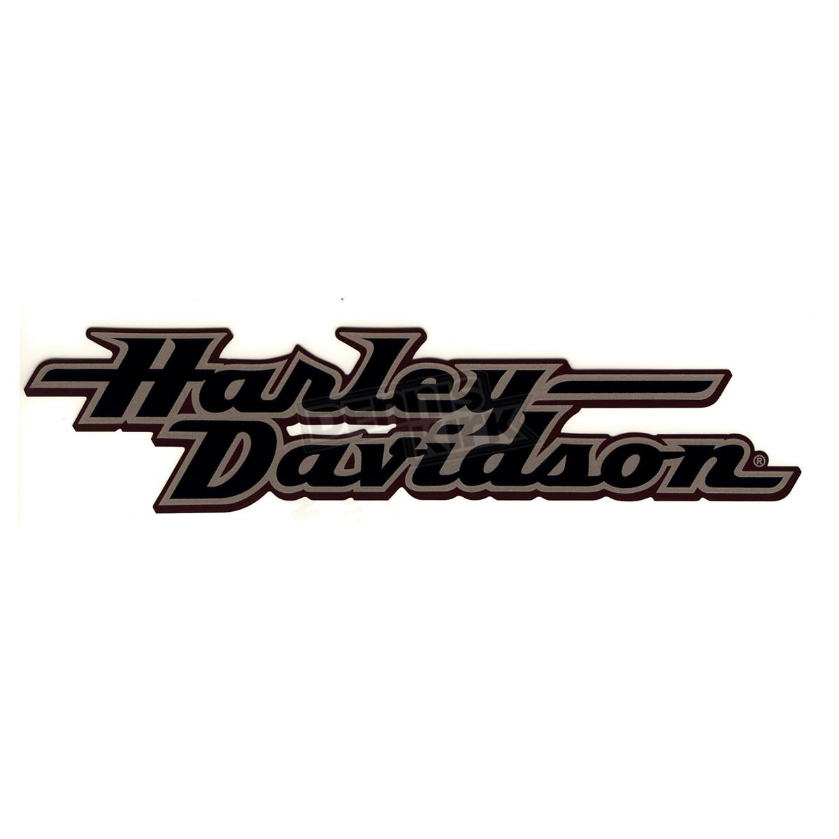 Harley Davidson Fuel Tank Decals Harley Davidson Inc Brown Black Gas Tank Decal Harley Davidson Decals Harley Davidson Logo Harley Tattoos
