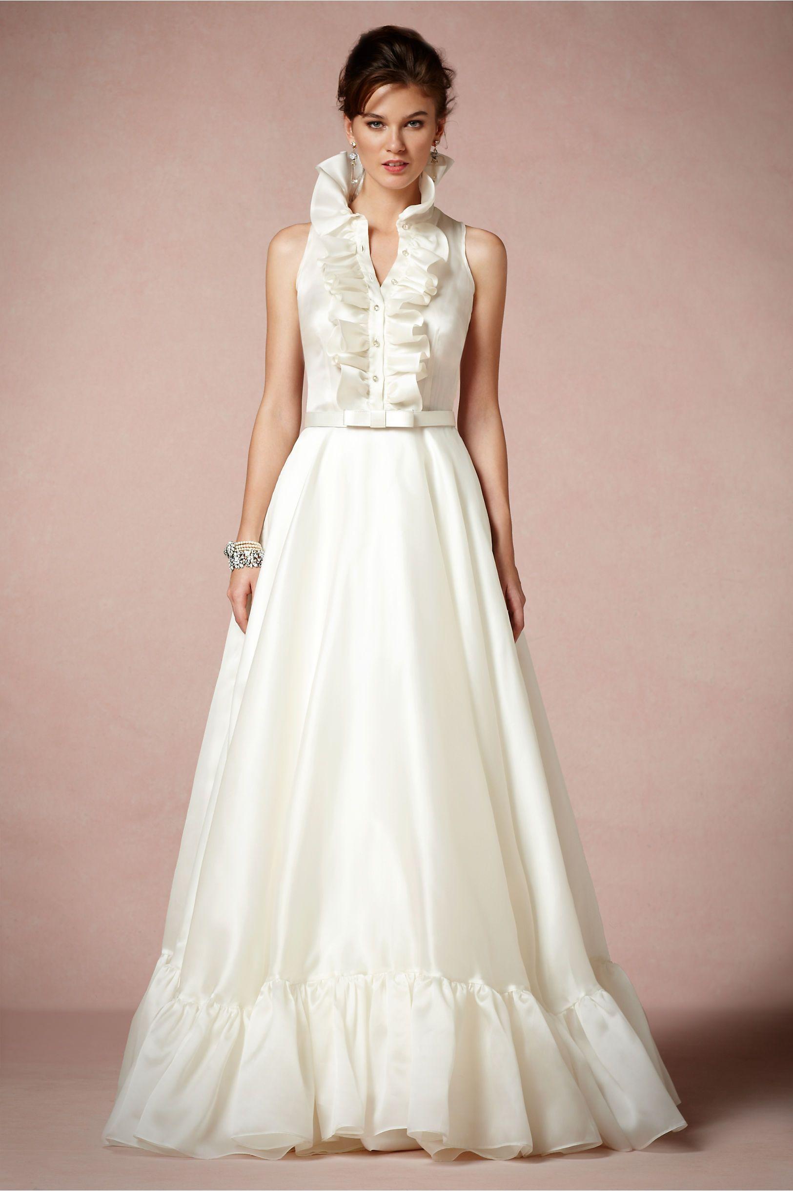 Caroline Gown from BHLDN | Wedding | Pinterest | Novios