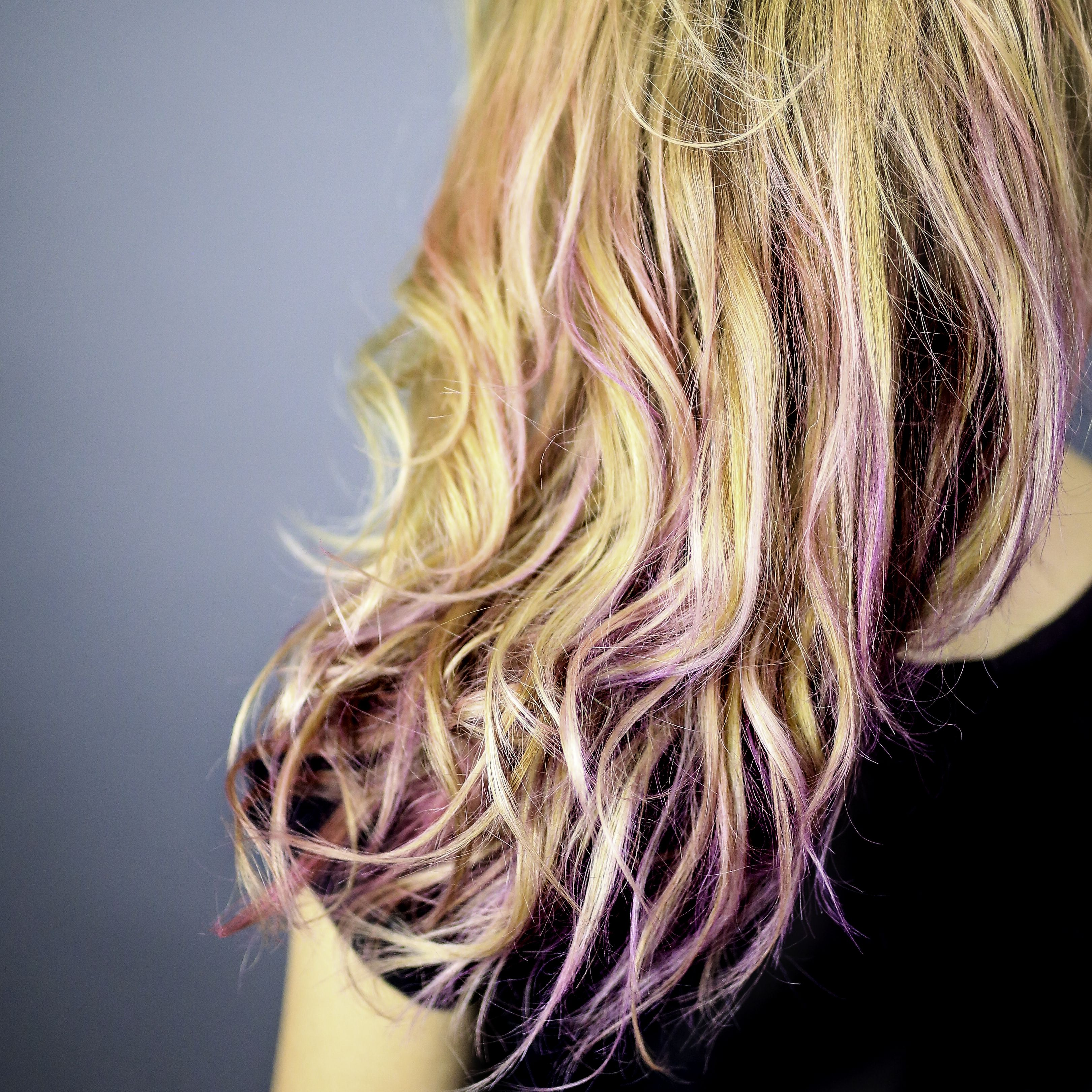 Try The Bright Hair Trend For A Day Ion Brights Airbrush Tint Is