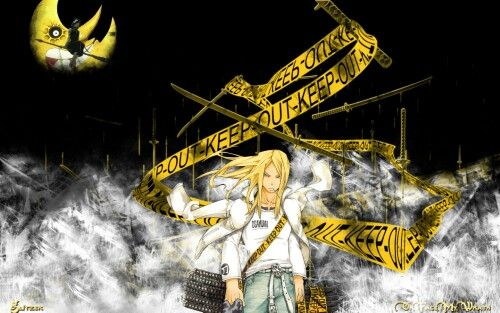 Soul Eater Keep Out Mifune Wallpaper