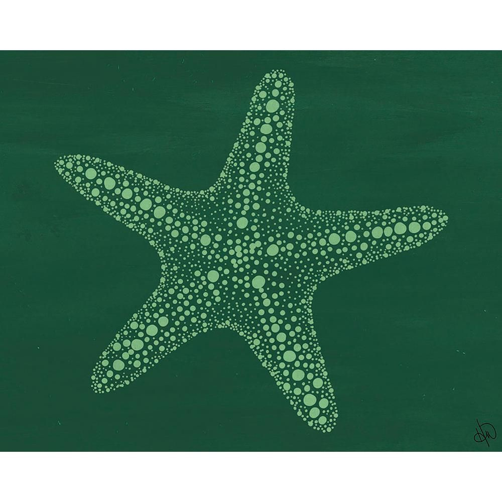 Creative Gallery 20 In X 24 In Starfish Dots Gamma Acrylic Wall Art Print N A Acrylic Wall Art Wall Art Prints Textured Canvas Art
