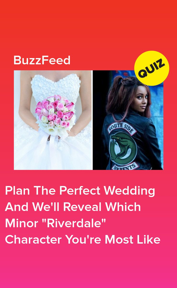 Plan Your Dream Wedding And We'll Tell You Which Minor