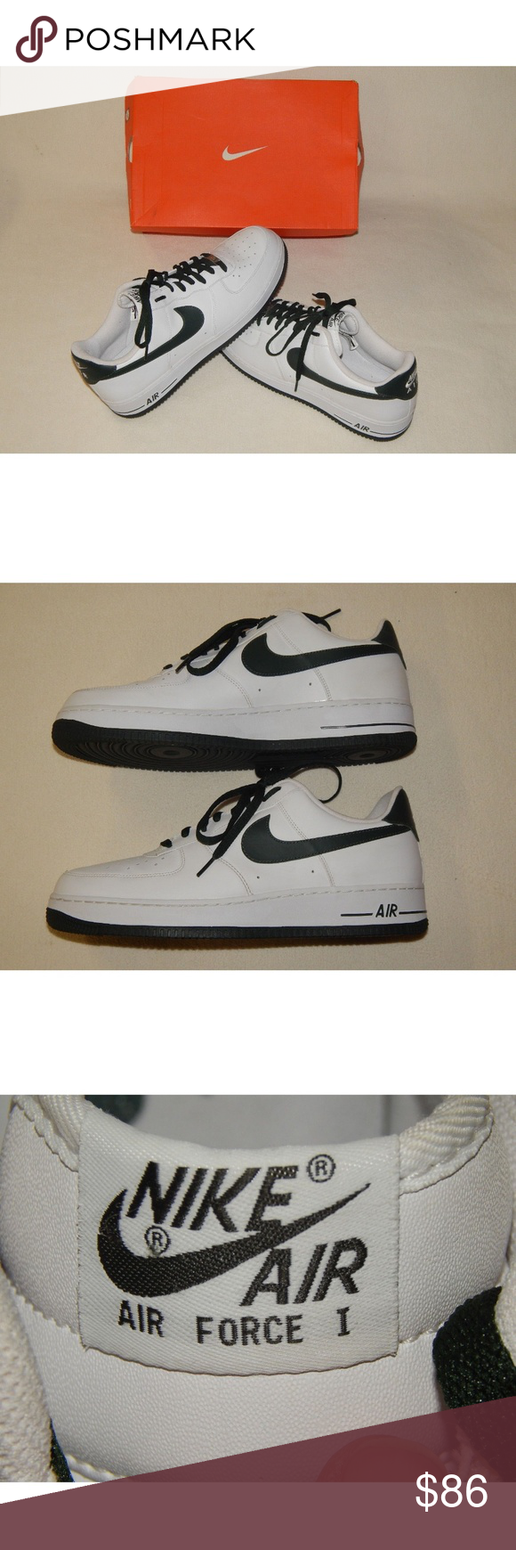 NEW RARE Men Size 14 Nike AF-1 Air Force Shoes NEW RARE 2010 Mens ... 008d38226