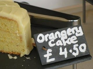 I vote for a slice of cake at The Orangery (Kensington Palace). It's delish (but I don't remember it being 4 pounds 50 there).