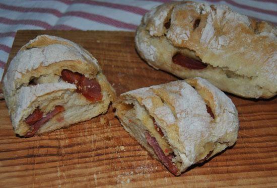 Pão com Chouriço - De Avental e Saltos Altos
