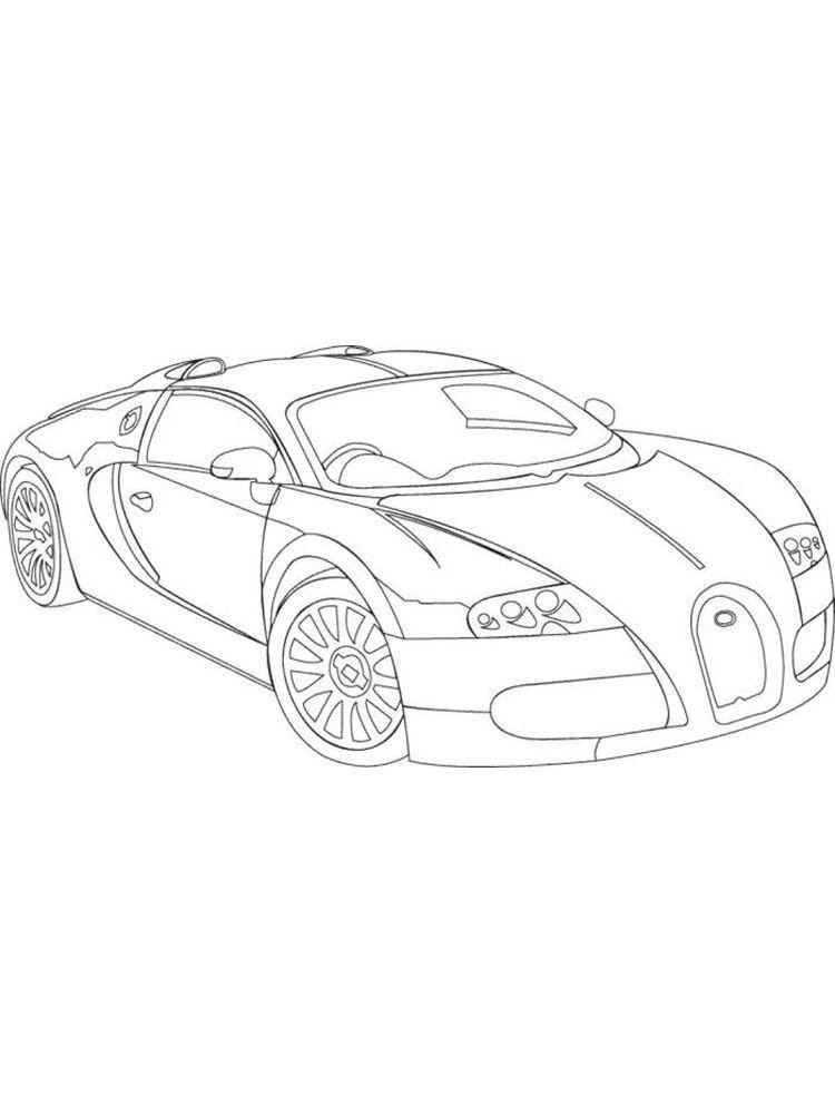 Printable Bugatti Coloring Pages Di 2020