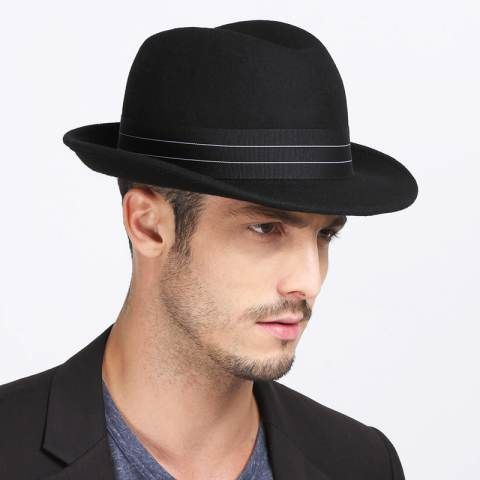 c1f9188bf4a https   www.buyhathats.com vintage-plain-black-fedora-hat-men-british-style- winter-wool-hats.html