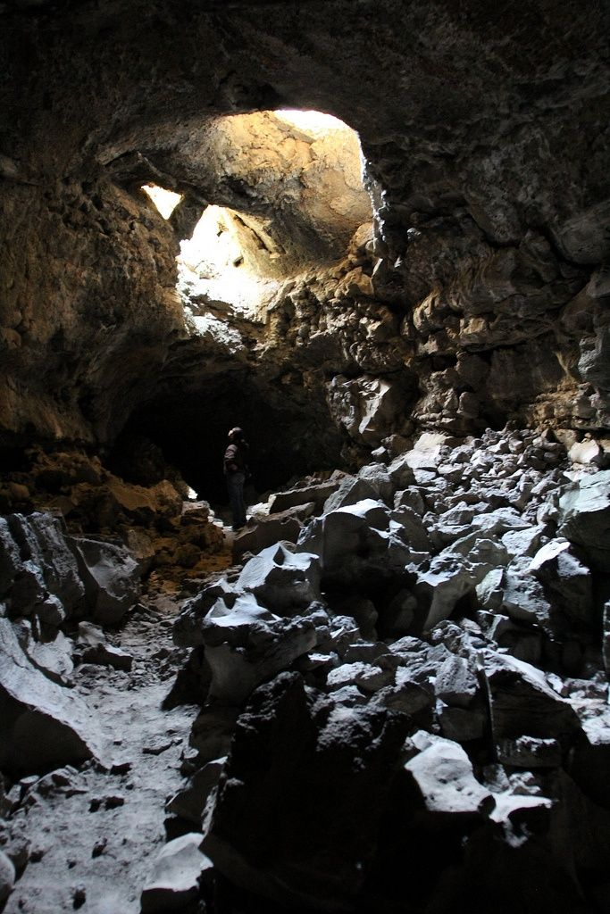 Lava Tube Lava Beds National Monument Wallpapers HD