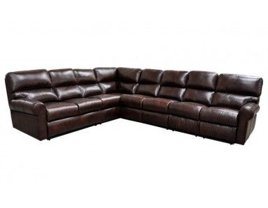 haven leather reclining sectional home ideas leather reclining rh pinterest com