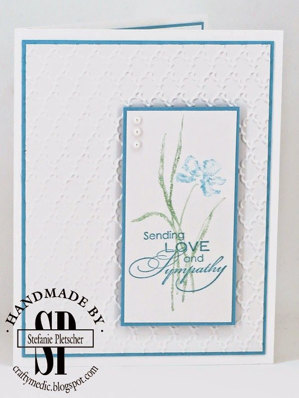 Sympathy card or set of cards Sending Love and Sympathy cards