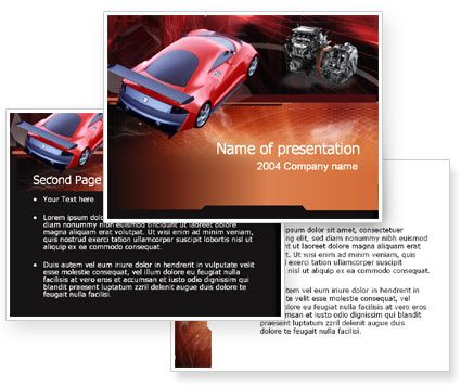 Free Tuning Powerpoint Template With Free Tuning Powerpoint