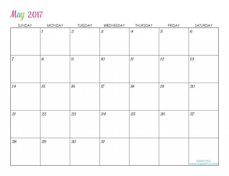Custom Editable Free Printable  Calendars  Free Printable