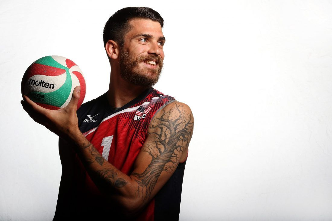 Matt Anderson I Learned From My Father To Be A Good Person And Help Others Become Better Olympic Tattoo Matt Anderson Volleyball