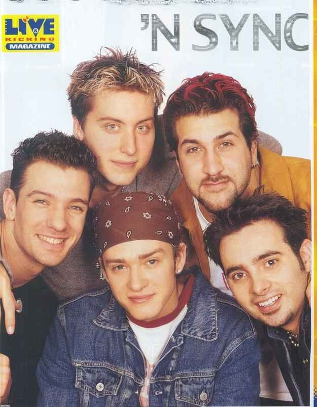 They Pioneered The Art Of Frosted Tips Nsync Joey Fatone Old