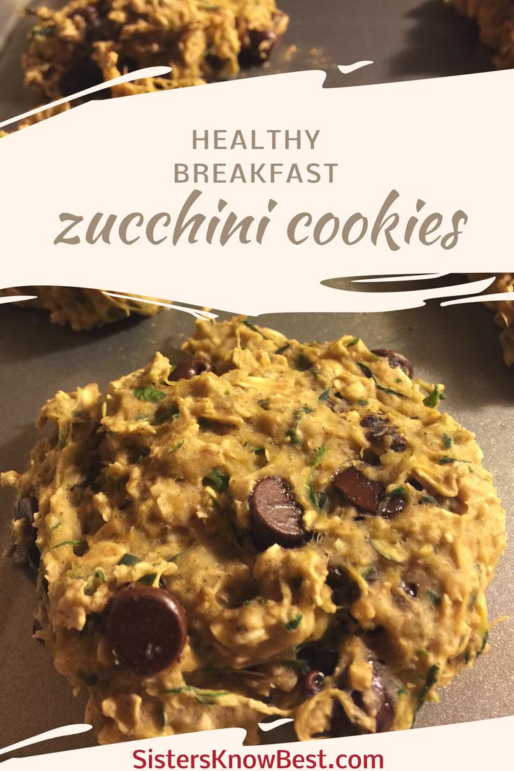 Healthy Zucchini Breakfast Cookies Recipe Weight Watchers
