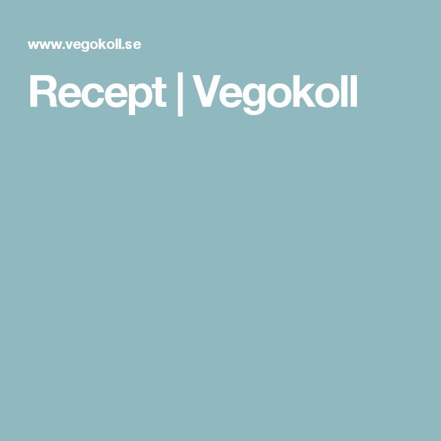 Recept | Vegokoll