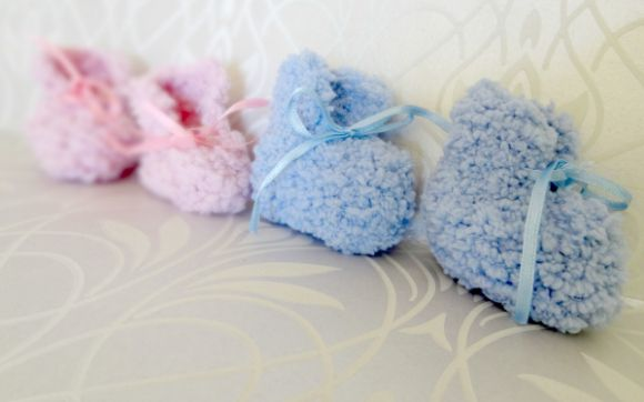 Cant Fail Pattern Easy Baby Booties Baby Booties Patterns And Easy
