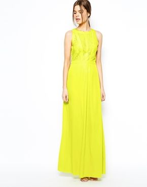 Collection Lime Green Maxi Dress Pictures - Reikian