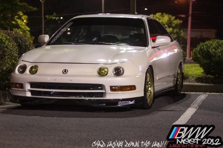 Acura Integra GSR Sedan With Custom Paint Job And Built LSVtech - Acura integra gsr 95