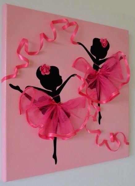 Bailarinas Ballet Decoraci N Recamara Ni As Luc A