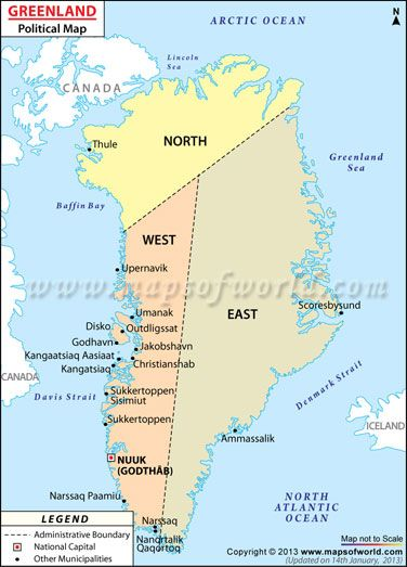 Greenland | WANNA GET AWAY/GREENLAND? | Greenland map, Map, Country on