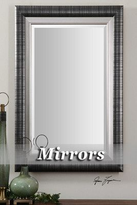Bathroom Mirrors from Tres Chic Home