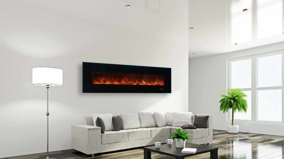 Fireplace Mounting Options Define Rooms Wall Mounted In Living Room