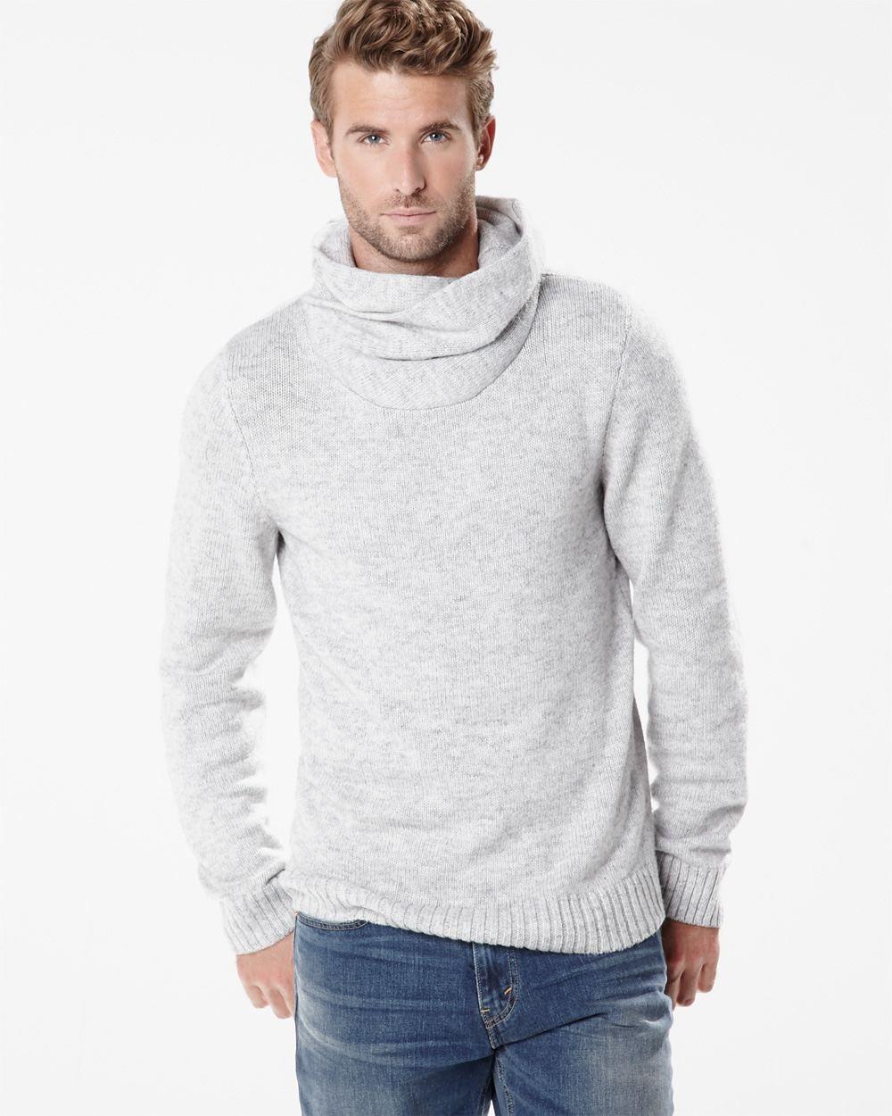 4dd8b3f145a7 Snood collar sweater