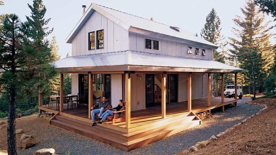 Off The Grid Cabin Open Concept House Plans Small House Plans Cabin Floor Plans