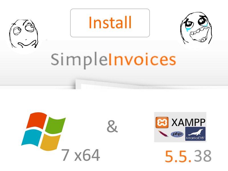 Install SimpleInvoices On Windows X Localhost XAMPP - Invoice software for windows 7
