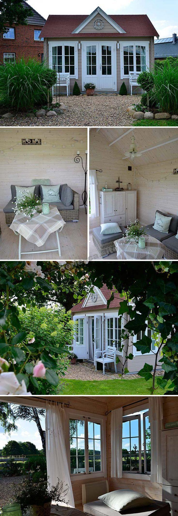GartenhausmitTerrasse Garden Pinterest Pergolas