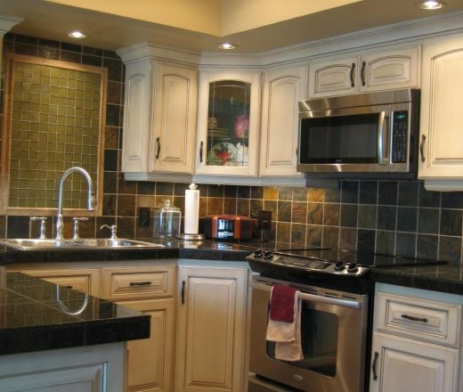 Transitional U-shaped kitchen, cabinets, $20,000 or less, Dave Lewis,