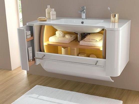 Maximize the Bathroom Storage Design Ideas | BATHROOM | Pinterest ...
