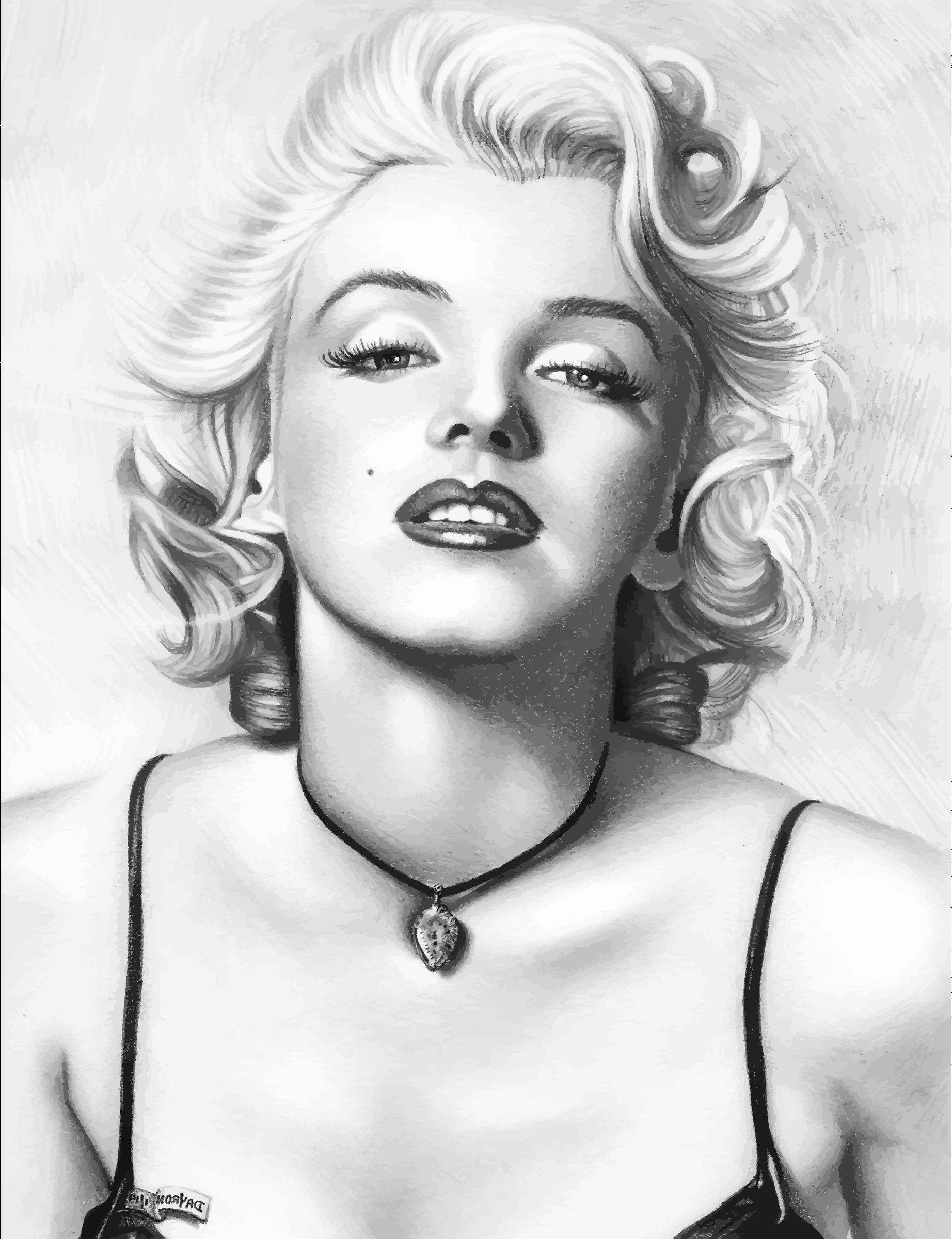 marilyn munroe vintage model  photo art print black white large