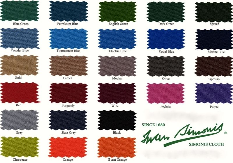 Simonis 760 Pool Table Place By D Jaburek Billiards Pool Table Felt Colors Pool Table Cloth Pool Table Felt