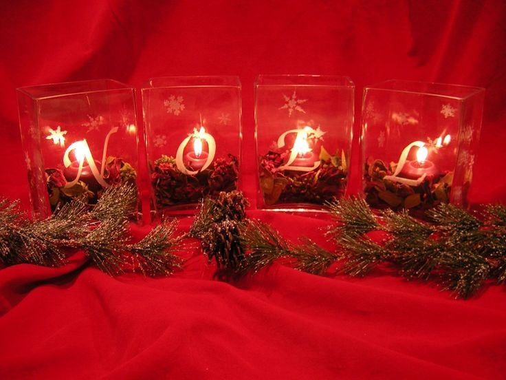 Pin by Christmas Memories on ~ Christmas Candles ~ Pinterest