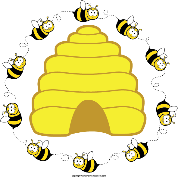 learn and practice how to spell the word bee using this printable rh pinterest com beehive clipart free beehive clipart black and white