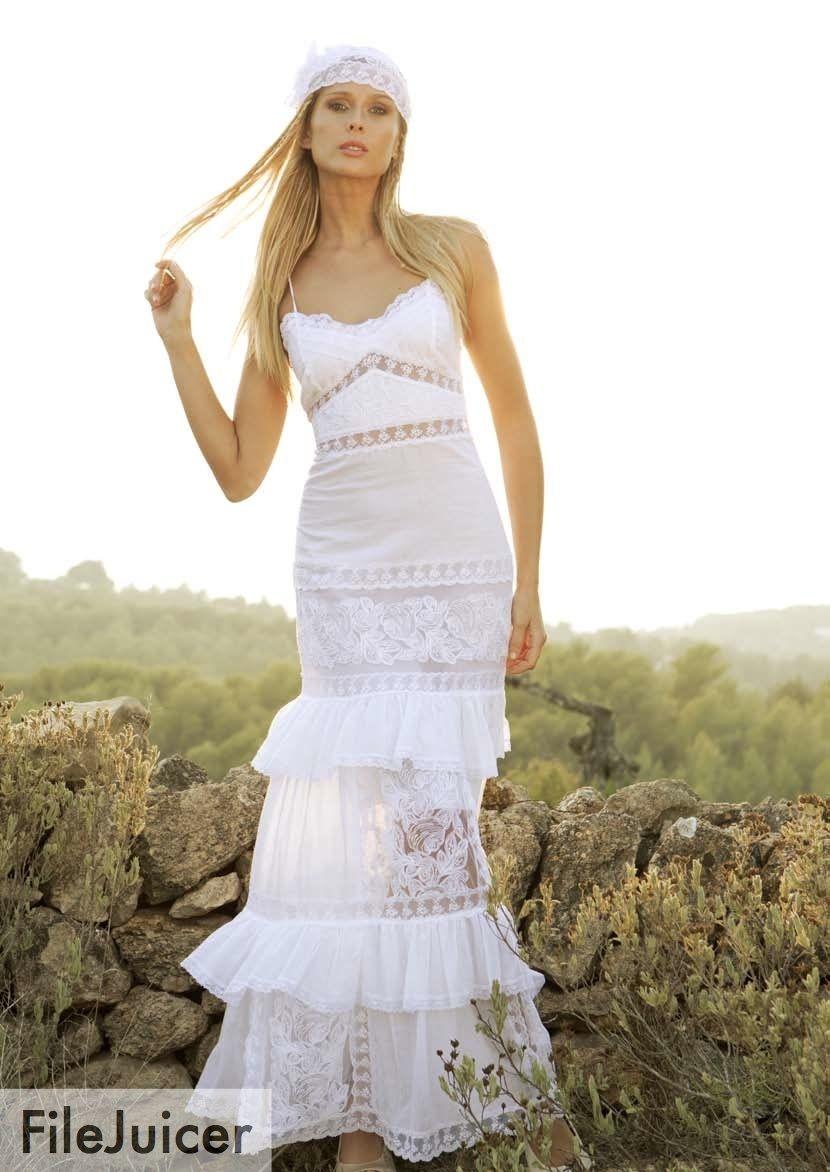 Vestidos Y Trajes De Novia Estilo Ibicenco