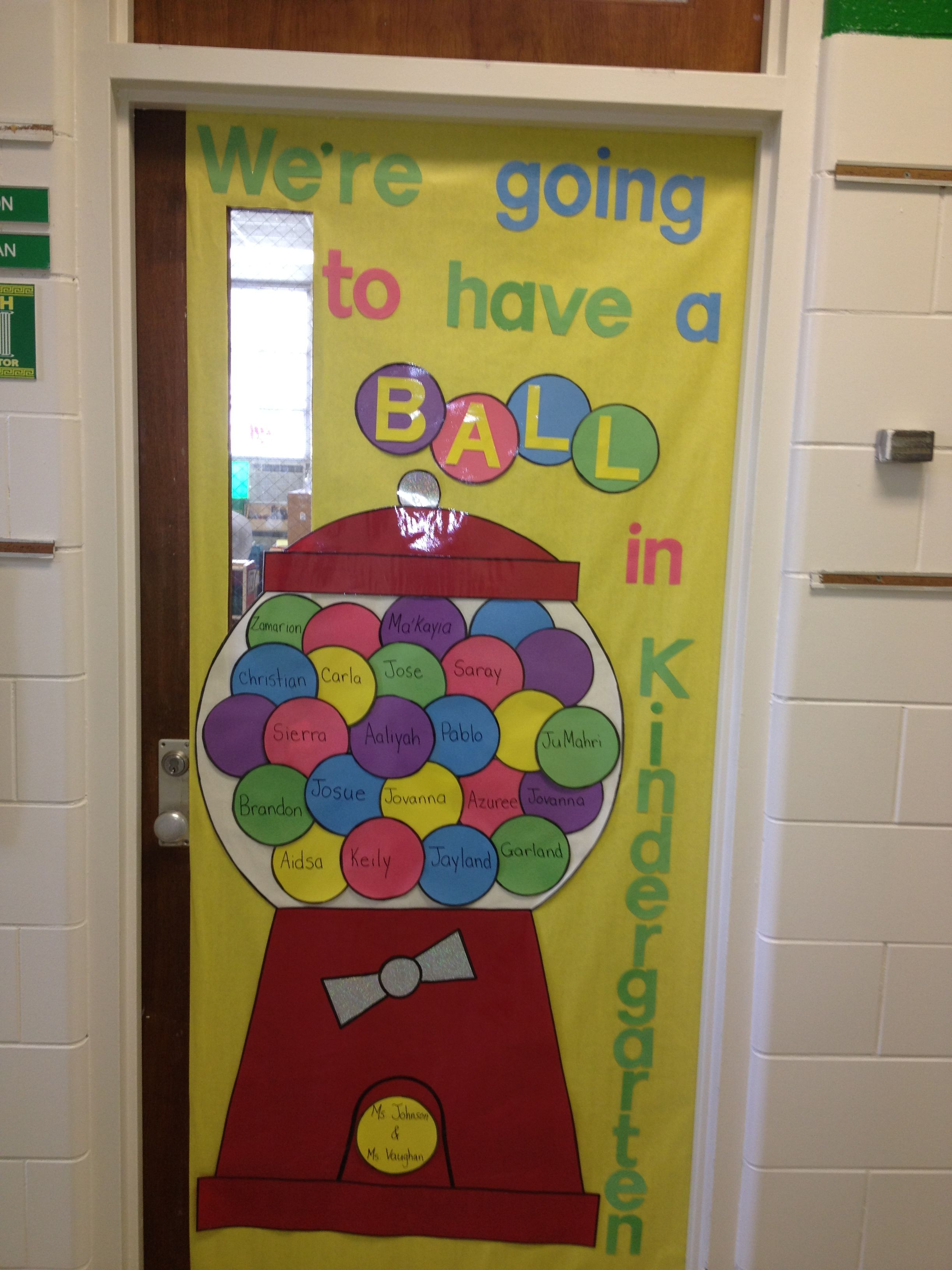 My classroom door 2012... A little twist on a great idea from ...