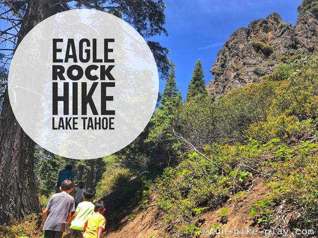 Eagle Rock Hike at Lake Tahoe
