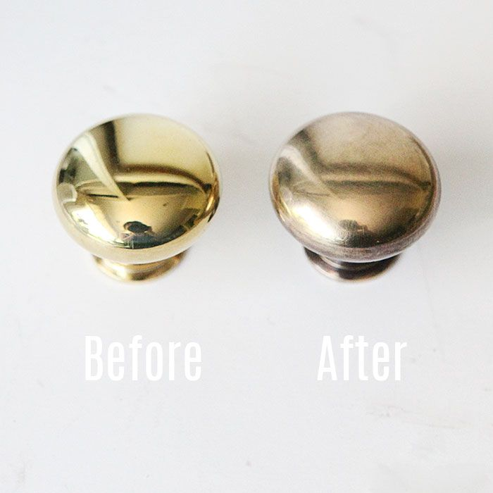 How To Age Brass Hardware Instantly For The Home Brass Hardware