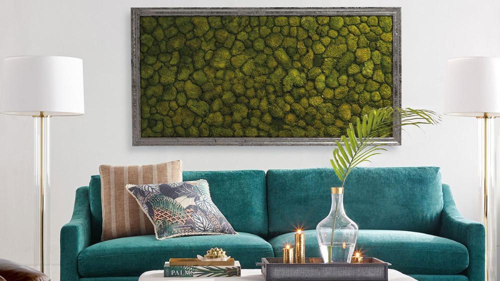 living moss wall art in 2020 moss wall moss wall art decor on wall hangings id=33052