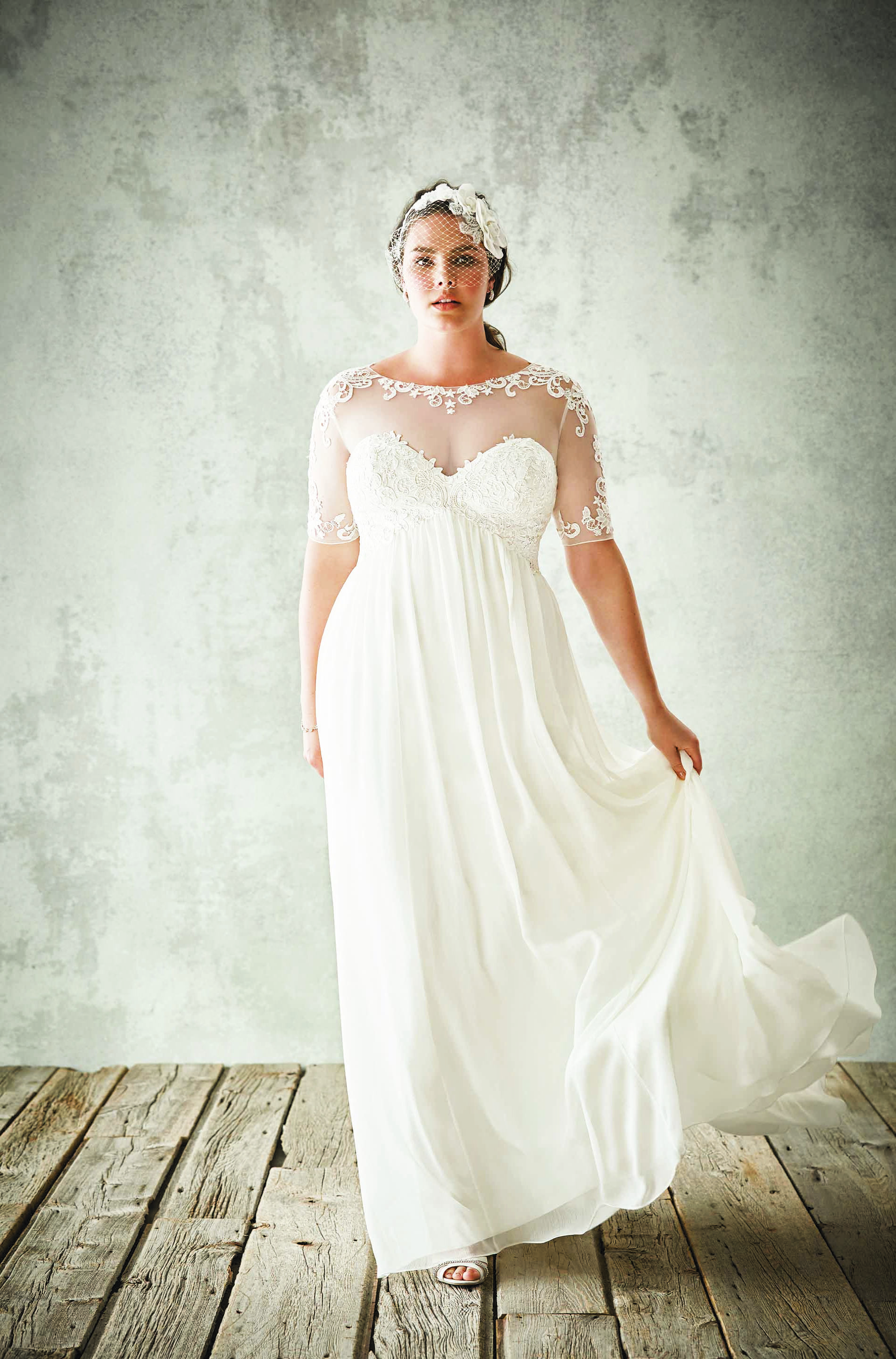Check out what I discoveredLace Wedding Dresses Under  xo