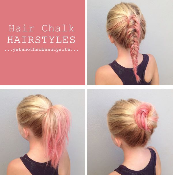 cool and easy hair styles click on the picture for hair chalk how to amp inspiration 8808