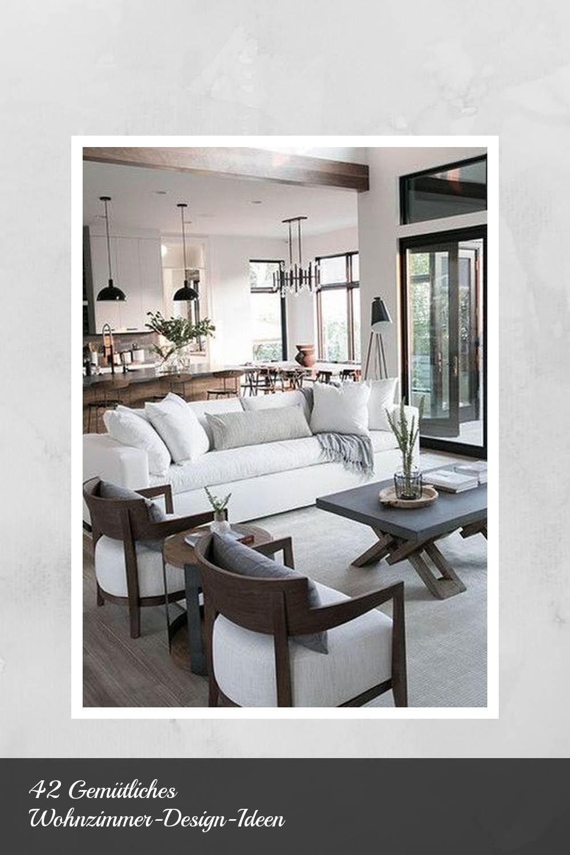 42 Gemütliches Wohnzimmer Design Ideen nel 2020