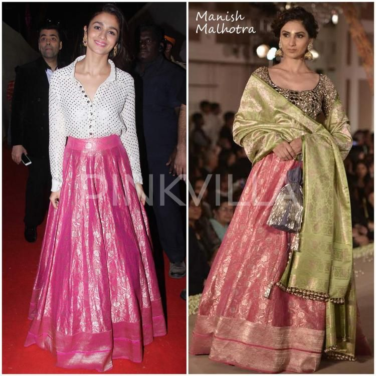 b916aea5a5ce92  4 Bollywood Actresses Show You How to Style Your Lehenga Skirt (Part-1)