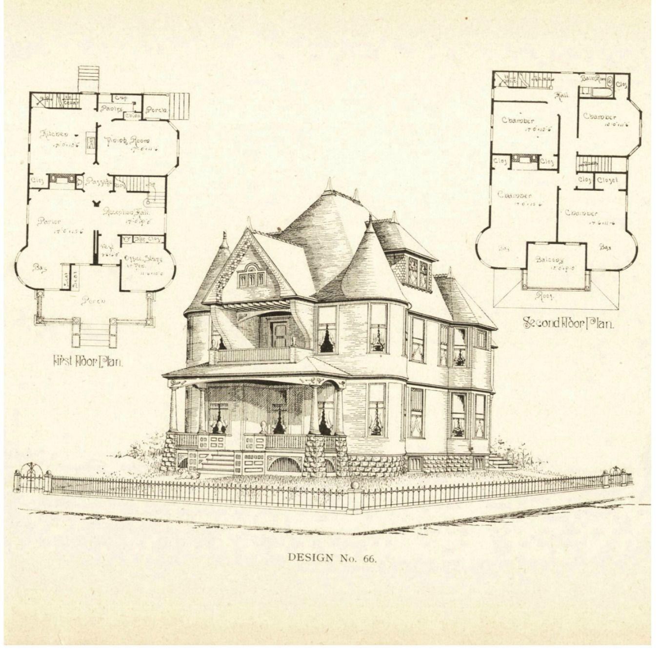 Victorian House Plans4 Vintage Images Pinterest Victorian