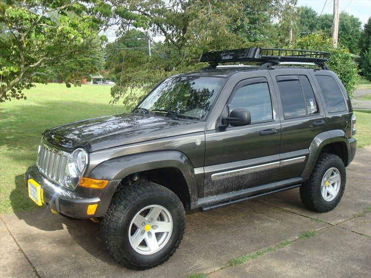 Lifted Jeep Liberty with Rims DryBones's 2005 Jeep